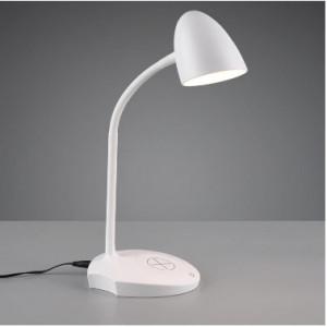 Veioza LED, plastic, alba, 13 x 38 cm