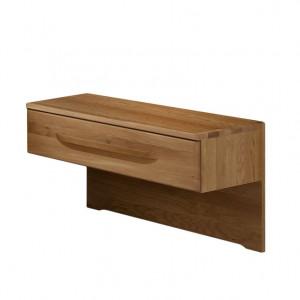 Noptiera Torino II, lemn masiv