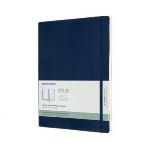 Agendă Moleskine Hard Cover, albastru safir, 18 luni