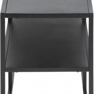 Buffet Newton din metal, negru, 120x46cm