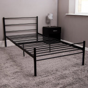 Cadru de pat din metal, 197 x 95 cm