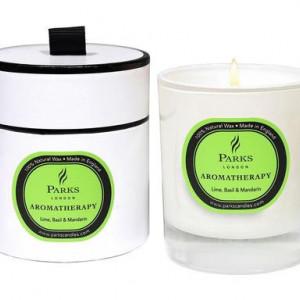Candela parfumata Lime/Basilico/Mandarino