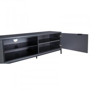 "Comoda TV 70 "" Charcoal, 160 x 45 cm"