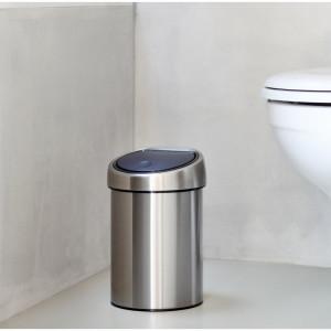 Coș de gunoi din oțel inoxidabil, 3L