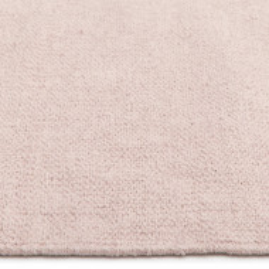 Covor Agneta din bumbac țesut manual, roz 70x140cm