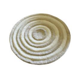 Covor de baie Marmaduke, acril, ecru, 90 cm