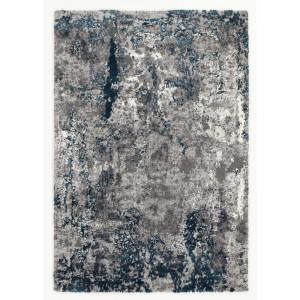 Covor Glossop albastru / gri, 140 x 200 cm