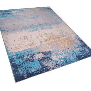 Covor Inegol, albastru/bej, 160 x 230 cm