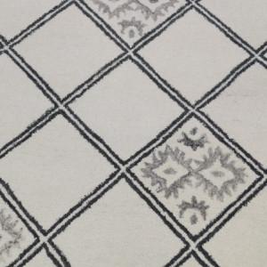 Covor Marokko, crem / gri, 200 x 200 cm