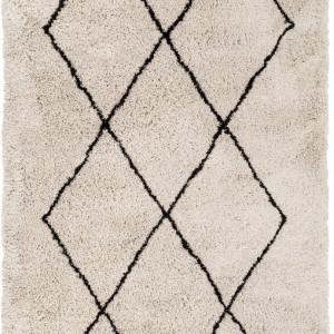 Covor Nouria, bej/negru, 160 x 230 cm