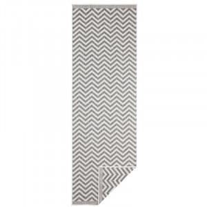 Covor Palma Woven gri, 80 x 350 cm