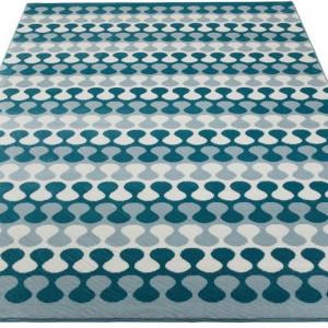 Covor Pranas by Andas 160 x 230, albastru