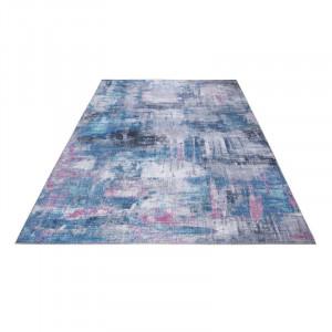 Covor Prima, gri/albastru, 80 x 150 cm