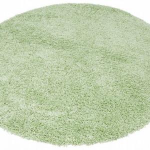 Covor rotund Shaggy 30 by My Home Affaire 190 cm, verde deschis