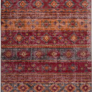 Covor Tilas Istanbul, rosu/galben, 80 x 150 cm