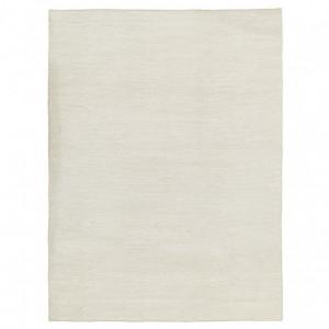 Covor Uno, lana, crem, 120 x 170 cm