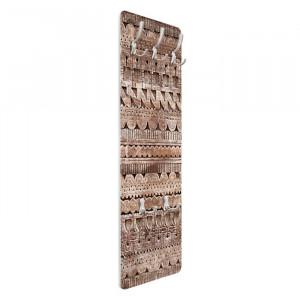 Cuier Essaouria, MDF, maro, 139 x 46 x 1,6 cm