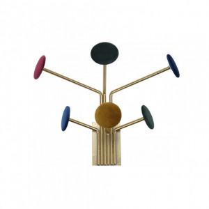 Cuier Karll metal/catifea, 32 x 22 x 15 cm