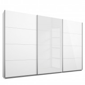 Dressing Katja din lemn, alb, 229 x 271 cm