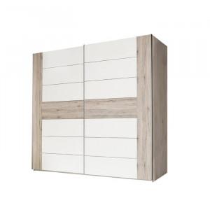 Dressing Mickie, alb/bej, 210 x 220 x 61 cm