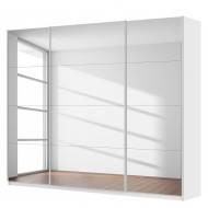 Dressing SKOP IV, 270x22x68 cm, alb alpin, 3 usi, confort