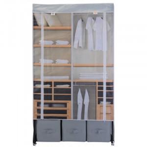 Dulap textil cu fermoar 88X50X160cm design imprimat
