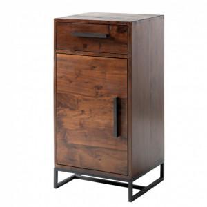 Dulapior Woodson din lemn de salcam/fier, maro, 40 x 80 x 35 cm