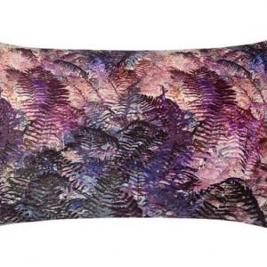 Fata de perna decorativa catifea Grassland violet, 40x60 cm