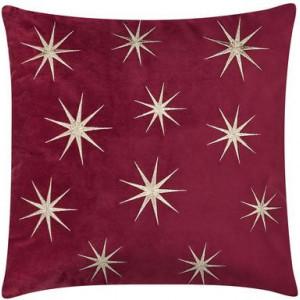 Față de pernă Stars, roșu, 45x45 cm
