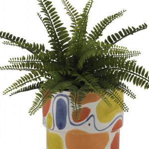 Ghiveci Colors din ceramică, 18 x 15cm
