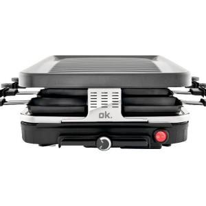 Gratar electric ORA 102, negru/argintiu, 1600 W