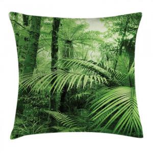 Husa pentru perna Haydn, verde, 50 x 50 cm