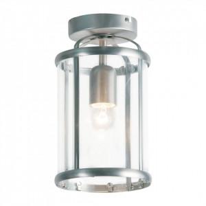 Lustra Pimpernel sticla/metal, argintiu, 1 bec, diametru 16 cm, 230 V