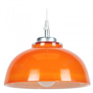 Lustră tip pendul Celia, portocaliu, 84cm H x 24,5cm W x 24,5cm D