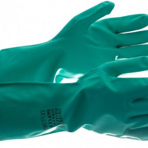 Manusi din cauciuc Shield GI / 2016 verde fara latex, marimea XL