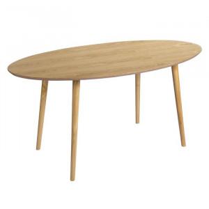 Masa Sanders, lemn, maro, 160 x 90 x 75 cm