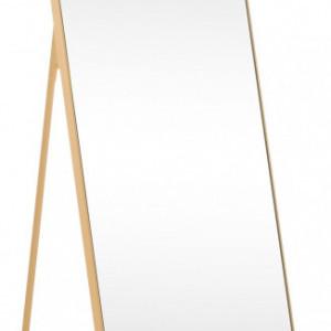 Oglindă Bavado, metal/sticla, aurie, 41 x 175 x 3 cm