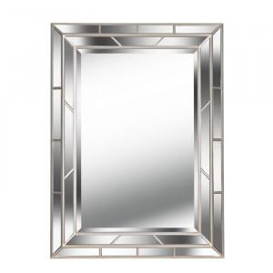 Oglinda de perete Haydon, sampanie, 97 x 71 x 5 cm