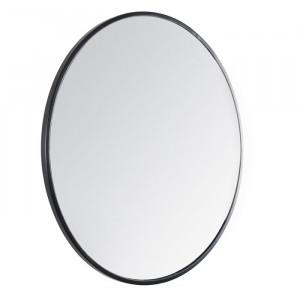 Oglindă de perete Kobe, neagra, 71,12 x 71,12 x 1,90 cm