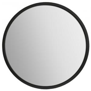 Oglinda Talon, negru, 80 x 80 cm
