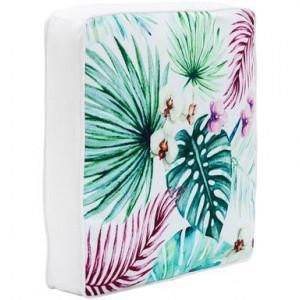 Perna de scaun Geena, multicolora, 40x40 cm