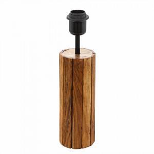Picior veioza Thornhill, lemn, maro, 35 x 9 x 9 cm