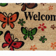 Pres intrare RUCO Welcome Butterfly   Natur 40 x 60 cm