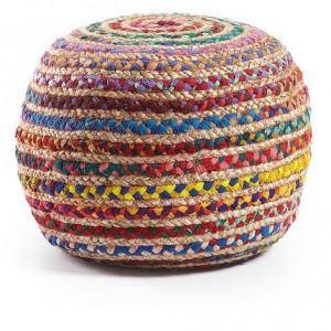 Puf Saht multicolor, 50 x 35cm