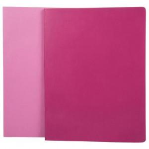 Set de 2 caiete Volant roz și fucsia, XL
