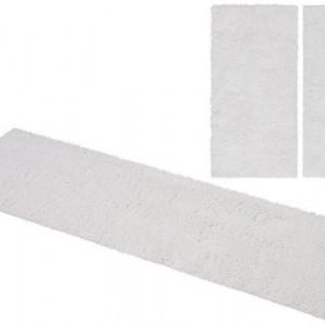 Set de 3 covoare pentru dormitor Viva Home Affaire, 2x70/140,1x70/250, alb