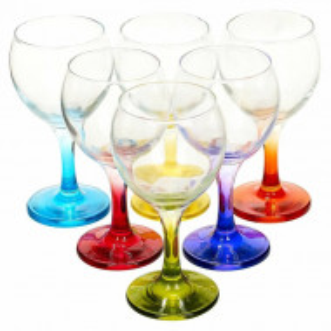 Set de 6 Pahare de vin Lav, 7,5 x 15 cm
