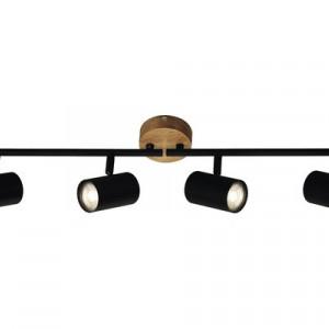 Spotlight Muritz, metal, negru, 9 x 15 x 68 cm