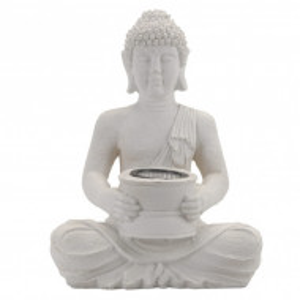 Statuie Karll Buddha cu lumina solara