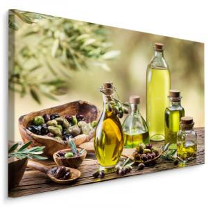 """Tablou """"Olive Oil Wood Garden"""", maro/galben, 70 x 100 cm"""